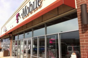 Solar Control Window Film after Installation 35 Stainless at T-mobile