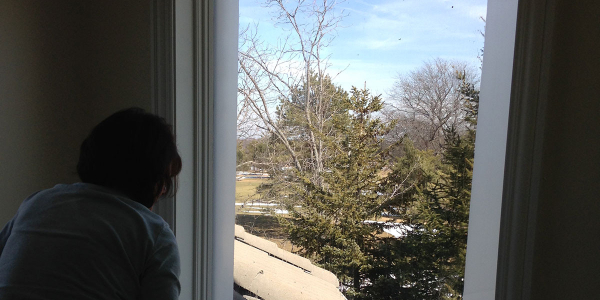 Residential-Privacy-Window-Film-prior-to-Deerfield-installation