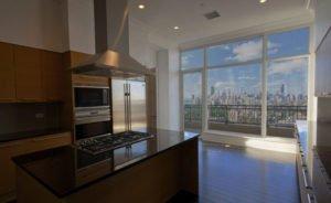 Residential solar control window film after installation